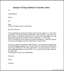 Lease Termination Notice Sample Agreement Tenancy Break