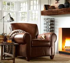 pottery barn manhattan leather club chair for sale. pottery barn- manhattan leather club chair \u003e\u003e for waiting area/side seating barn sale c