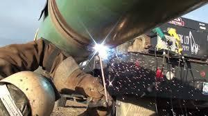 Pipe Welders Pipeline Welding Mainline Youtube