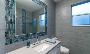 bathroom accent tile fair glass wall on home pertaining to remodel 18
