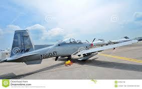 At 6b Texan Ii Light Attack Aircraft Beechcraft At 6 Texan Ii Light Attack Single Turboprop Plane