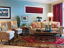 decor red blue room full:  living room decor in red and beige theme using beige fabric english sofa with red