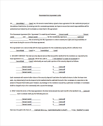 sample rental agreement letter 11 rental agreement letter templates free sample example format