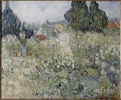 vincent van gogh marguerite gachet in her garden at auvers sur oise 1890 at musuee d orsay paris france