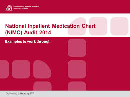 National Inpatient Medication Chart National Inpatient Medication Chart Nimc Audit 2014
