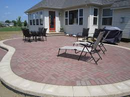 incridible brick paver patio have with how much does a paver patio cost