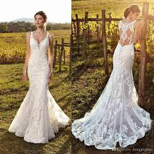 Wedding Dress Plus Size Chart 2019 Eddy K Country Mermaid Wedding Dresses Ivory Sweetheart Lace Sweep Train Bridal Gowns Plus Size Beach Boho Vestido De Novia