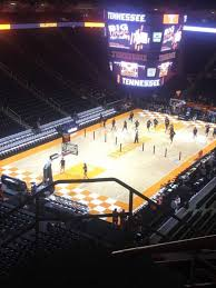 Thompson Boling Arena Section 311 Home Of Tennessee Volunteers