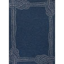 awesome nautical outdoor rugs at beautiful in rug rope indoor navy blue