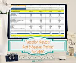 Rental Template Excel Vrbo Accounting Excel Worksheet Excel Template For Vacation Rentals On Vrbo