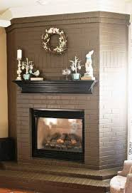 amazing paint colors brick fireplace ideas