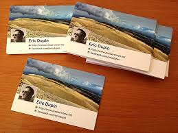 cartes des visites