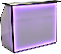 lighted led 62 75 portable bar