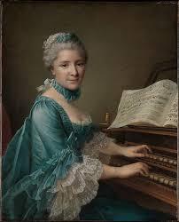 portrait of a woman said to be madame charles simon favart marie justine benoîte