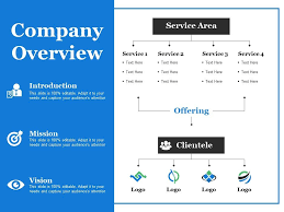 Company Overview Templates Company Overview Ppt Summary Design Templates Template