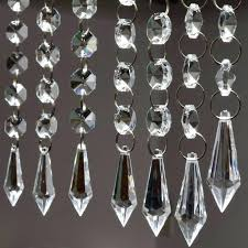 chandeliers crystal strands for chandelier 6 acrylic garland photo 1 of 7 bead