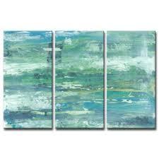 seafoam coast acrylic painting print multi piece image on canvas on seafoam green canvas wall art with seafoam wall art wayfair