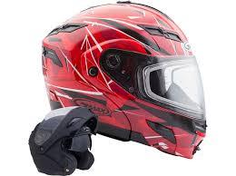 Allsnowmobilegear Com Gmax Gm54s Modular Snowmobile Helmet