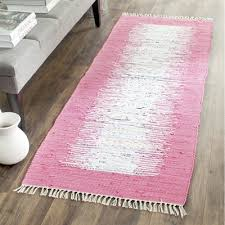 safavieh mtk711a montauk flat weave ivory and pink area rug lowe s canada