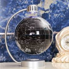 desk toy educational magnetic levitation floating globe world map gift 8 inch unbranded