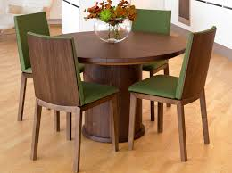 skovby sm32 round table in walnut veneer