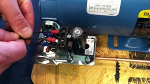 proper installation wiring procedure wiring to the air compressor's  at Dual Capacitor 220 Volt Air Compressor Wiring Schematic