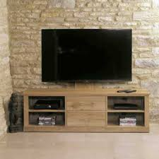 stunning baumhaus mobel. Simple Baumhaus IN STOCK FREE DELIVERY COR09E Baumhaus Mobel Oak Mounted Widescreen  Television Cabinet To Stunning H