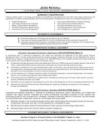 solution architecture resume