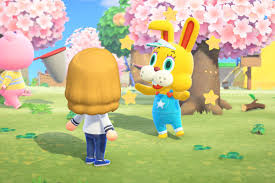 How adorable is our new bunnies?! Animal Crossing S Zipper Is Scaring Fans During Bunny Day Polygon