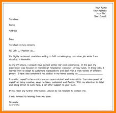 What Should I Put On A Cover Letter. download what information do ...