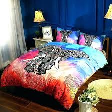 queen size duvet cover sets canada artistic green cotton mega set bedding mandala comforter king elephant
