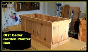 outdoor planter boxes. DIY: Garden Planter Box Outdoor Boxes