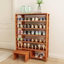 manhattan comfort valencia 9 shelf shoe closet with mirror in white storage organization b01m1dfovu