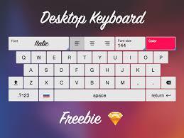 Layouts Downloads Keyboard Layout Sketch Freebie Download Free Resource For Sketch