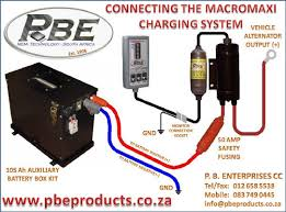 dual battery systems pbe products dual battery wiring diagram camper at Dual Battery Charging System Diagram