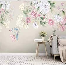 Pbldb 3D Watercolor Flower Wallpaper ...