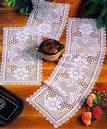 Крючок вязание салфетка прямоугольные