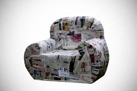 recycled paper furniture. amazing paper furniture made from recycled