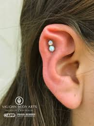 Vaughn Body Arts I Have Stahls Ear So My Cartilage Ridge Is Only
