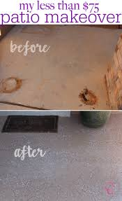 easy front porch makeover under 75