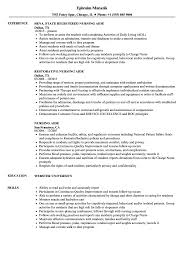 Nurse Aide Resume Nursing Aide Resume Samples Velvet Jobs 23