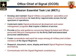 fice Chief of Signal Personnel Presentation TechNet Augusta 2015