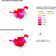 Alarming Nutrient Pollution Of Chinese Rivers As A Result Of