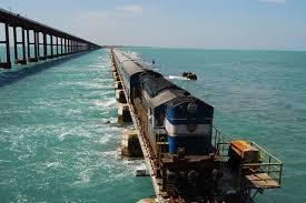 Image result for Pamban Bridge