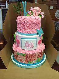 13 Lilies Sweet 16 Birthday Cakes Photo Lilly Sweet 16 Cake Lilly