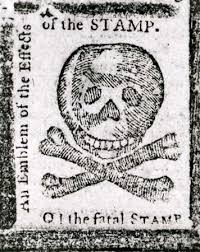 "stamp act great britain com ""an emblem of the effects of the stamp "" a warning against the stamp"
