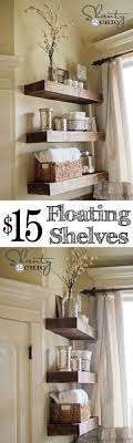 diy bathroom decor ideas. Easy DIY Floating Shelves - Shelf Tutorial Video \u0026 Free Plans Diy Bathroom Decor Ideas