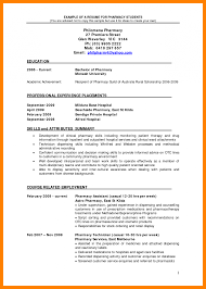 Collection Of Solutions Sample Pharmacy Resume Unique Pharmacist