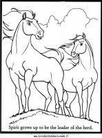 Disegni Da Colorare Spirit Cavallo Selvaggio Disegni Dei Personaggi