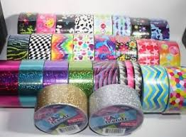 Duct Tape Patterns Inspiration NEW Art Skills Tape Trendz Duck Duct Tape Patterns Glitter